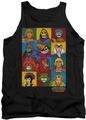 Masters Of The Universe tank top Character Heads mens black