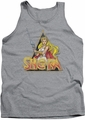 Masters Of The Universe tank top Rough Ra mens athletic heather