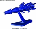 Mecha Coll Star Blazers 2199 Deusula Ii Core Ship Model Kit pre-order