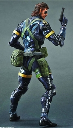Metal Gear Solid V Ground Zeroes Play Arts Kai Snake figure pre-order
