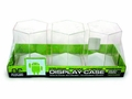 Mini-Figure Hexagonal Display Case 3-Pack White pre-order