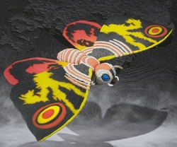 Mothra S.H.MonsterArts figure from Godzilla