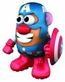 Mr Potato Head Marvel Captain America