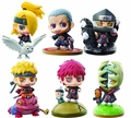Naruto & Akatsuki Pt 1 Petit Chara Land 6-Piece Blind Mystery Box Display pre-order