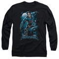 Nightwing adult long-sleeved shirt All Grown Up black