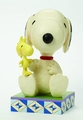 Peanuts Jim Shore Snoopy With Woodstock 15-Inch Figurine pre-order