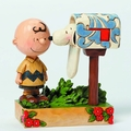 Peanuts Traditions Charlie Brown Mailbox Figure pre-order