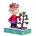 Peanuts Traditions Charlie Brown With Tree Figure pre-order