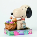 Peanuts Traditions Easter Bunny Snoopy Figure pre-order