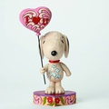 Peanuts Traditions Snoopy Heart Balloon Figure pre-order