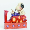 Peanuts Traditions Snoopy Love Plaque Figure pre-order