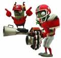 Plants Vs Zombies Gw Select All Star Zombie Action Figure pre-order