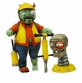 Plants Vs Zombies Gw Select Engineer Zombie Action Figure pre-order