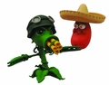 Plants Vs Zombies Gw Select Gatling Peashooter Action Figure pre-order