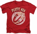 Plastic Man kids t-shirt Bounce red