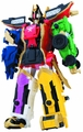 Power Rangers Super Megaforce Deluxe Megazord Case pre-order