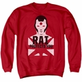 Rai adult crewneck sweatshirt Protector red