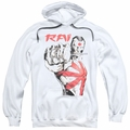 Rai pull-over hoodie Sword Drawn adult white