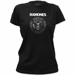 Ramones Presidential Seal juniors t-shirt