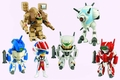 Robotech Sd Figure Blind Mini Box Display pre-order