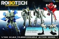 Robotech Transformable 1/100 Scale Action Figure Asst pre-order