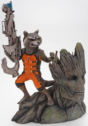 Rocket Raccoon ArtFX+ statue Marvel Guardians pre-order