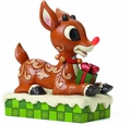 Rudolph Traditions Rudolph With Lighted Nose Figurine pre-order