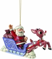 Rudolph Traditions Rudolph With Santa Ornament pre-order