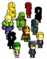 Scribblenauts Unmasked Blind Box Mini Figures Series 4 pre-order