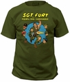 Sgt. Fury And His Howling Commandos Adult t-shirt