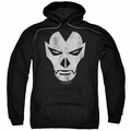 Shadowman pull-over hoodie Face adult black