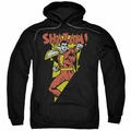 Shazam pull-over hoodie In Bolt adult black