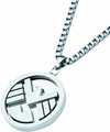 Shield Logo Pendant Necklace With 24-Inch Chain pre-order
