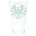 Shield Symbol Etched Pint Glass pre-order