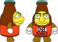 Simpsons Surly Duff Mini Figure pre-order