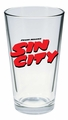 Sin City Logo Pint Glass pre-order
