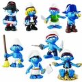 Smurf Pirates Pvc Figure Asst 36Ct Counter Top Display pre-order