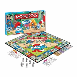 Smurfs Monopoly game