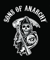 Sons Of Anarchy Logo Fleece Blanket pre-order