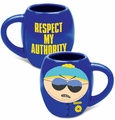 South Park Respect My Authority 18 oz. Oval Mug