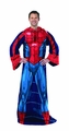 Spider-Man Comfy Throw Fleece Blanket With Sleeves pre-order