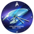 Star Trek 13.5 inch Wood Wall Clock pre-order