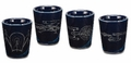 Star Trek 4 pc. Ceramic Shot Glasses pre-order
