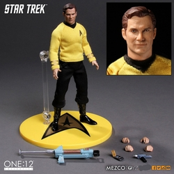 Star Trek Captain Kirk 1:12 Collective Action Figure