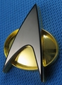 Star Trek Next Generation Communicator Badge replica