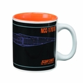 Star Trek Tng Enterprise D Blue Print 12-Oz Mug pre-order