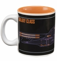 Star Trek TNG Enterprise D Blue Print 12-Oz Mug