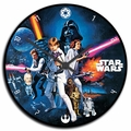 Star Wars 13.5-inch Wood Wall Clock pre-order