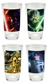 Star Wars 4 pc. 16 oz. Glass Set D1 pre-order