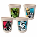 Star Wars 4 Piece 10 Ounce Bamboo Cup Set